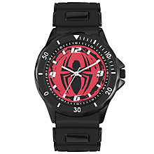 Disney Spiderman Black Silicone Strap Watch - Product number 5323126