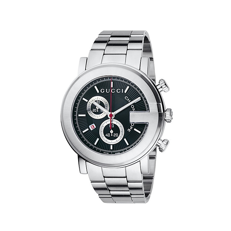 Gucci G Chrono men's stainless steel bracelet watch - Product number 5327342