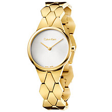 Calvin Klein Snake Ladies' Gold-Plated Bracelet Watch - Product number 5331641
