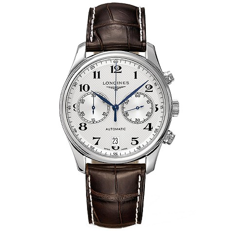 Longines Master Collection mens leather strap automatic watch
