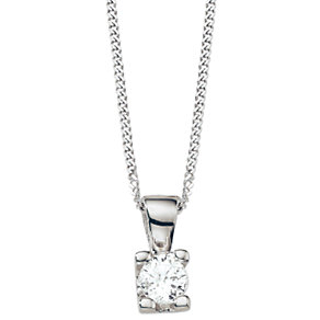 The Forever Diamond - 1/4 Carat Diamond Pendant - Product number 5365856
