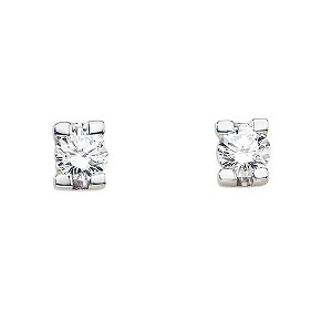 The Forever Diamond - 1/4 Carat Diamond Earrings - Product number 5365880