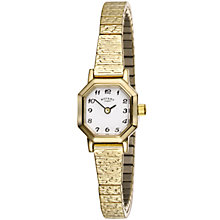 Rotary Ladies' Octagonal Expander Bracelet Watch - Product number 5371376