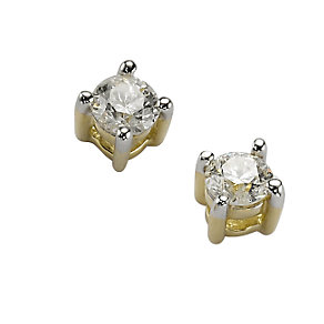 9ct Gold 1/3 Carat Earrings - Product number 5381282