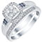 Perfect Fit 9ct White Gold 1/3ct Diamond Bridal Ring Set - Product number 5413206