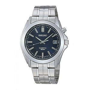 Seiko Kinetic men's stainless steel bracelet watch - Product number 5413729