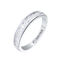 The Forever Diamond 18ct White Gold 1/2 Carat Diamond Ring - Product number 5423732