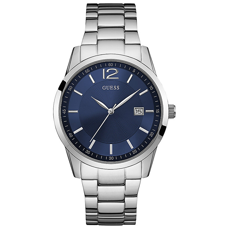 Guess Gent's Stainless Steel Bracelet Watch - Product number 5427657