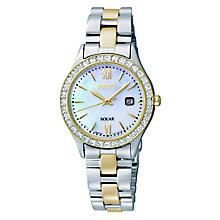 Seiko Ladies' Two Tone Stainless Steel Bracelet Watch - Product number 5427991