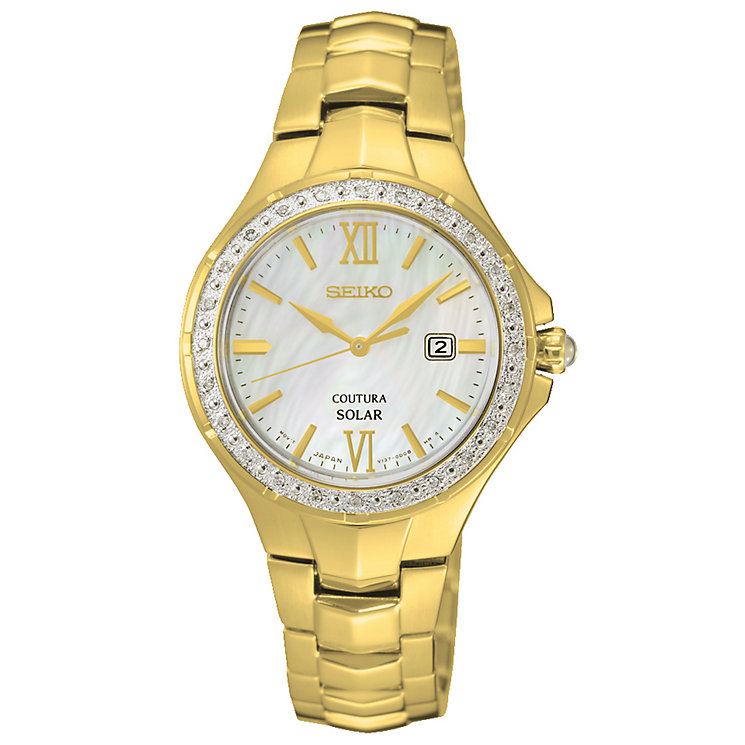 Seiko Ladies' Gold Bracelet Watch - Product number 5428009