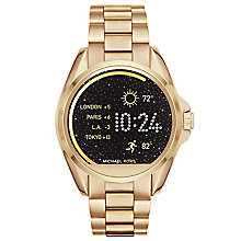 Michael Kors Access Bradshaw Ladies' Gold Tone Smart Watch - Product number 5430887