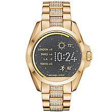 Michael Kors Access Bradshaw Ladies' Gold Tone Smart Watch - Product number 5430895