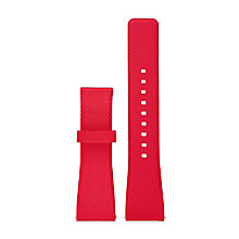 Michael Kors Access Bradshaw Ladies' Red Silicone Strap - Product number 5430992