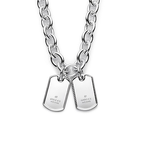 Gucci Dog Tag Necklace