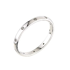 Platinum diamond wedding ring - Product number 5487986