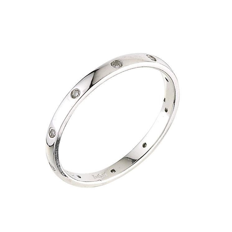 Platinum diamond wedding ring - Product number 5487986