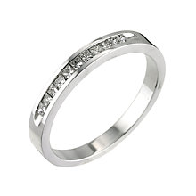 18ct white gold 0.25ct diamond set ring - Product number 5497647