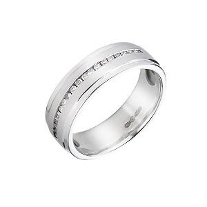 Platinum diamond wedding ring - Product number 5498341