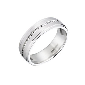 Platinum diamond wedding ring - Product number 5498341