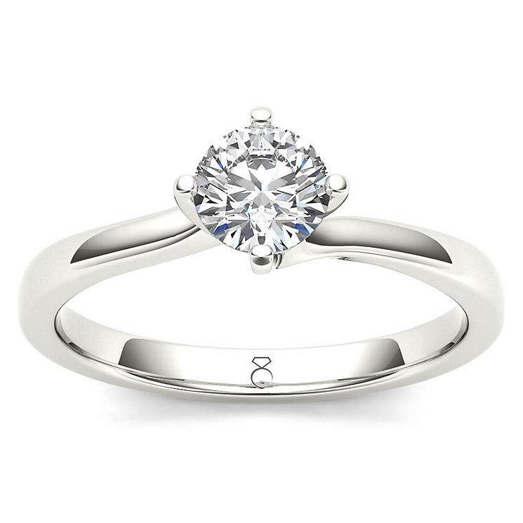 The Diamond Story 18ct White Gold 0.50ct Diamond Ring - Product number 5511534