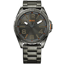 Boss Orange Gent's Black Bracelet Watch - Product number 5519942