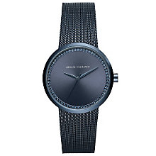 Armani Exchange Ladies' Blue Stainless Steel Bracelet Watch - Product number 5526728