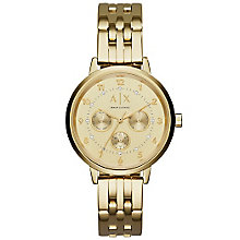 Armani Exchange Ladies' Stainless Steel Bracelet Watch - Product number 5526736