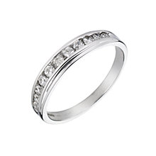 9ct White Gold 1/3 Carat 11 Stone Diamond Ring - Product number 5543460