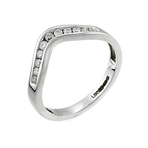 Ladies' 18ct White Gold 0.20 Carat Diamond Set Ring - Product number 5544327