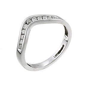 Ladies' 18ct White Gold 0.20 Carat Diamond Set Ring - Product number 5544327