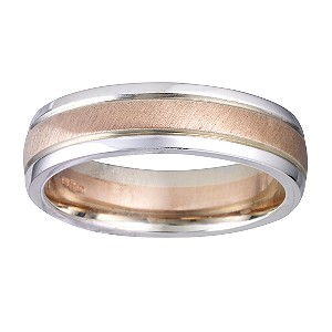 9ct Two-colour Gold Ring