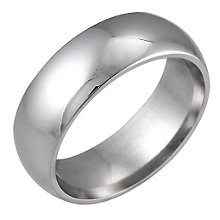 9ct White Gold Super Heavy Weight 7mm Wedding Ring - Product number 5547032