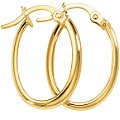 9ct Yellow Gold Creole Earrings - Product number 5551730