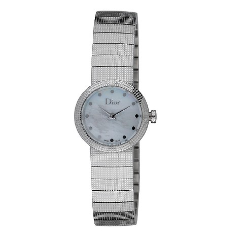 ladies Baby D stainless steel bracelet watch