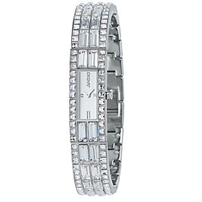 DKNY ladies' stainless steel Swarovski crystal watch - Product number 5567351