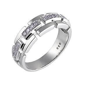 9ct white gold third carat diamond ring - Product number 5576121