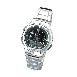 Casio 10 Year Battery Tele Memo Watch