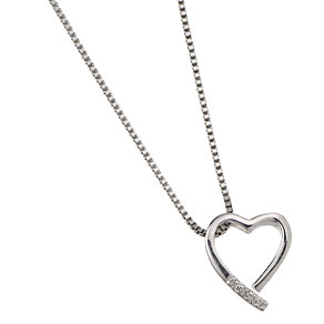 Hot Diamonds Sterling Silver Heart Pendant - Product number 5622107