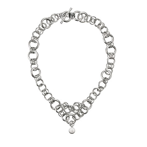 ck Wish stainless steel necklace