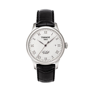 Tissot Le Locle men's leather strap automatic watch - Product number 5655013