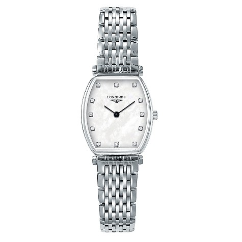Longines La Grande Classique ladies' diamond-set watch