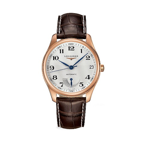 Longines Master Collection men's 18ct rose gold automatic watch