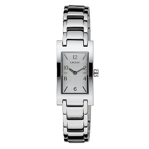 DKNY ladies' silver dial bracelet watch - Product number 5690625