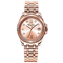 Thomas Sabo Divine Ladies' Rose Gold Plated Bracelet Watch - Product number 5694981