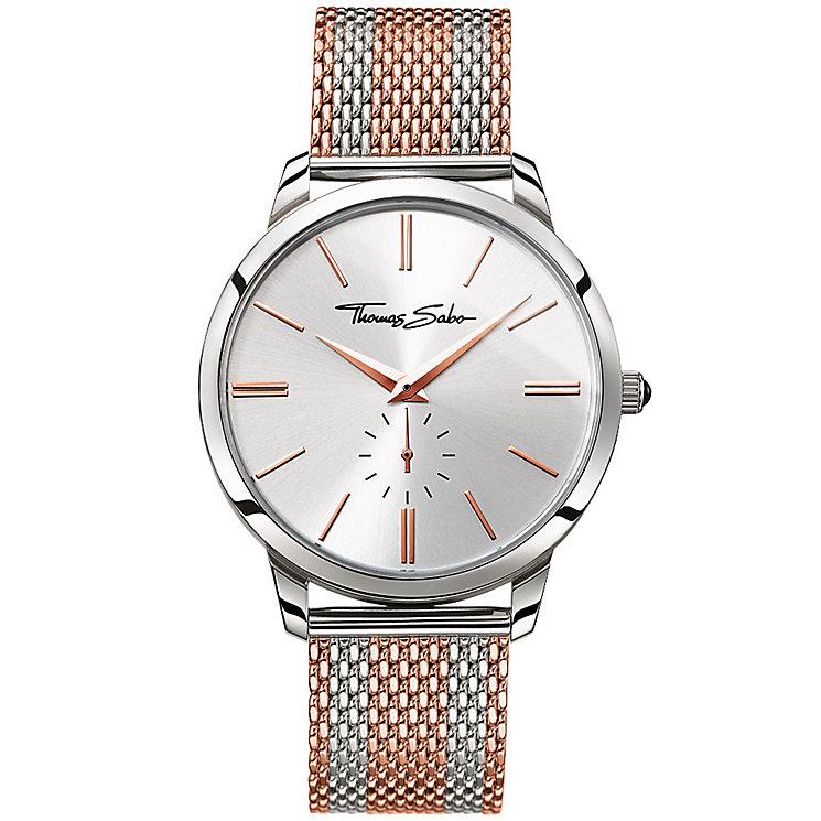 Thomas Sabo Rebel Spirit Men's Two Colour Bracelet Watch - Product number 5695287