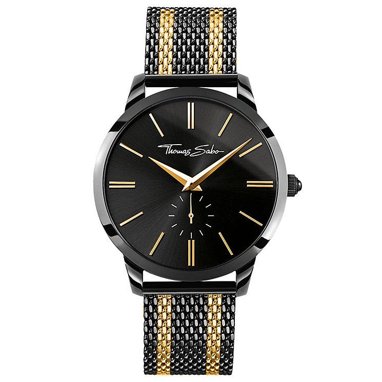 Thomas Sabo Rebel Spirit Men's Two Colour Bracelet Watch - Product number 5695309