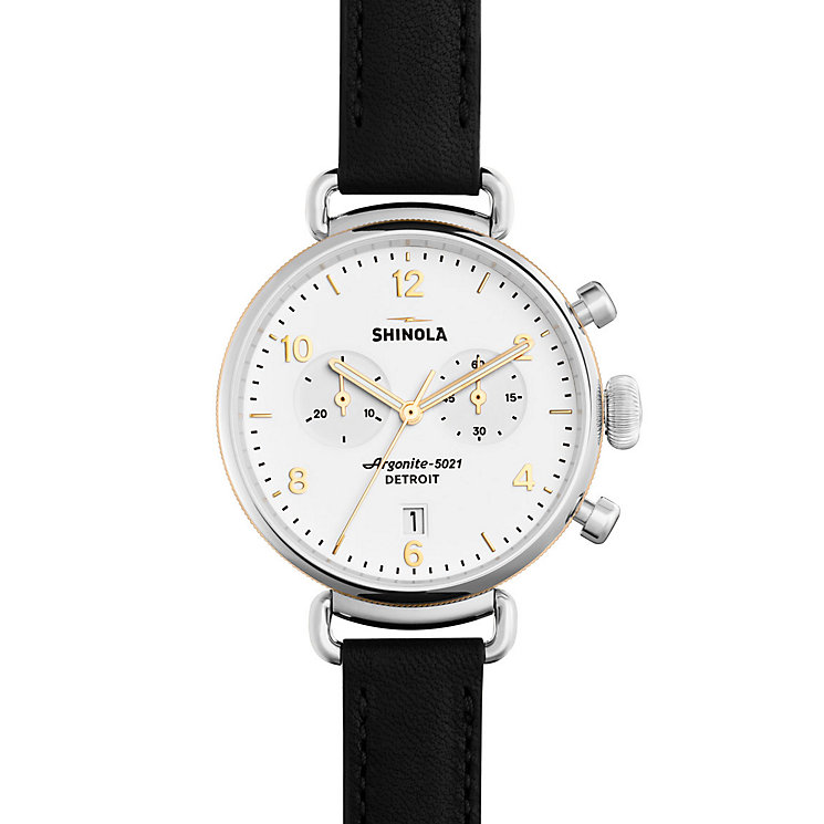 Shinola Canfield Ladies' Stainless Steel Strap Watch - Product number 5696496
