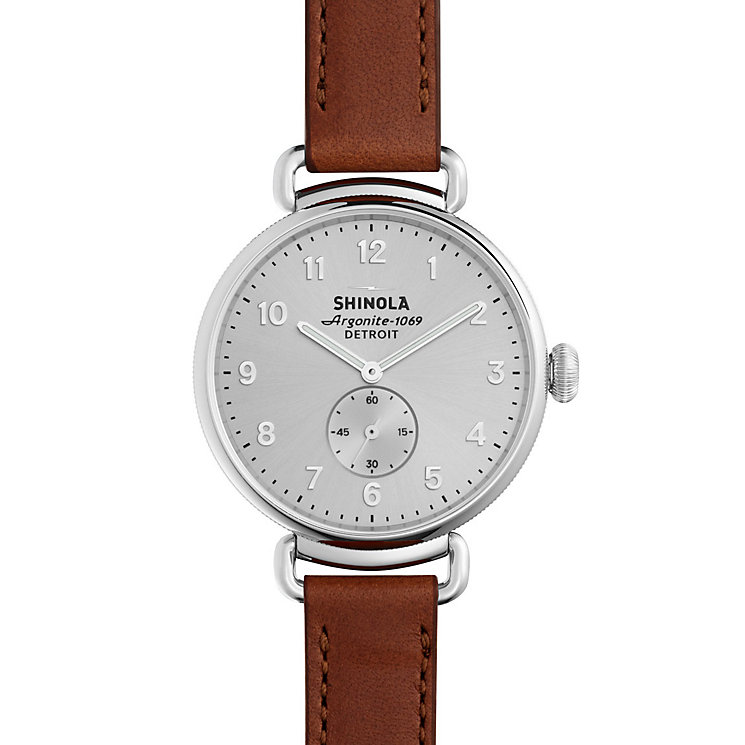 Shinola Canfield Ladies' Stainless Steel Strap Watch - Product number 5696518