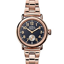 Shinola Runwell Ladies' Rose Gold Plated Bracelet Watch - Product number 5696534