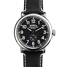 Shinola Runwell Men's Stainless Steel Strap Watch - Product number 5696569